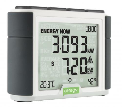 Whole House Energy Monitor : Efergy elite mapawatt