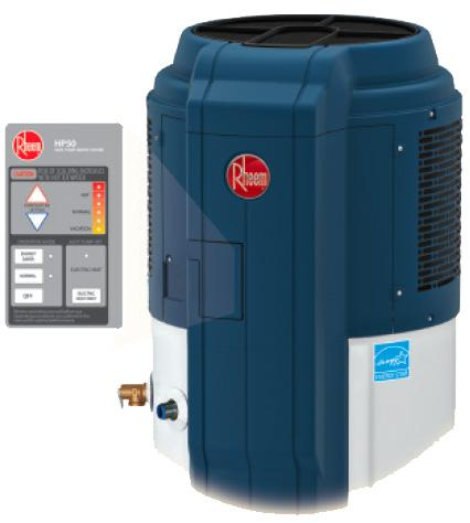 Rheem Hybrid Electric Heat Pump Water Heater Mapawatt